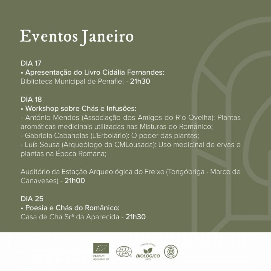 Eventos Janeiro